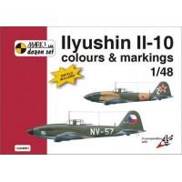 Ilyushin Il-10 Colours & Markings + Decals 1:48