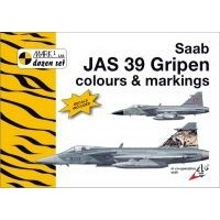 Saab JAS 39 Gripen Colours & Markings Decals 1:48