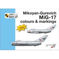 Mikoyan-Gurevich MiG-17 Colours & Markings mit Decals 1:72