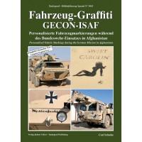 5041,Fahrzeug Graffiti GECON-ISAF