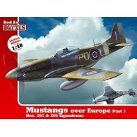 Mustangs over Europe Part 1 in 1:48