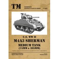 6032,U.S. WW II M4A3 Sherman Medium Tank 75 mm/105 mm