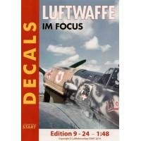 Decals Luftwaffe im Focus Edition 9 - 24 in 1:48