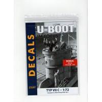 Decals U-Boot im Focus Typ VII C in 1:72