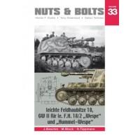 """33,leichte Feldhaubitze 18 GW II für le F.H. 18/2 """"Wespe"""" und """"Hummel-Wespe"""""""