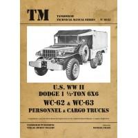 6033, U.S. WW II Dodge WC62-WC63 6x6 Trucks