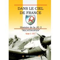 """Dans le Ciel de France - Histoire de la JG 2 """"Richthofen"""" Vol.4 : 1943"""
