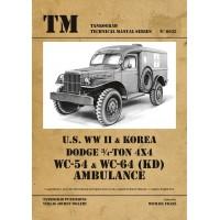 6035,U.S. WW II & Korea Dodge 3/4 -Ton 4x4 WC-54 & WC-64 (KD) Ambulance
