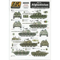 War in Afghanistan - Northern Alliance Tanks and AFVs Wet Transfer in 1:35