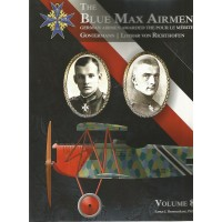 The Blue Max Airmen Vol.8 : Gontermann,Lothar von Richthofen