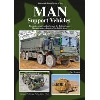 9025, MAN Support Vehicles - Die modernsten Lastkraftwagen der British Army