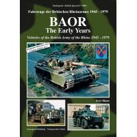 BAOR - Fahrzeuge der Britischen Rheinarmee 1945 - 1979