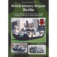 """9001,British Infantry Brigade Berlin - Gepanzerte Fahrzeuge in """"Berlin-Stadttarnung"""""""