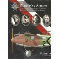 The Blue Max Airmen Vol. 10 : Dostler - Strasser - Müller - Kleine