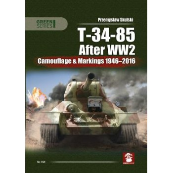 T-34/85 After WW 2 -Camouflage & Markings 1946 - 2016