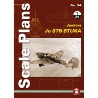 54, Junkers Ju 87 B Stuka in 1:24
