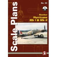 55, Hawker Hurricane Mk.I & Mk.II in 1:24